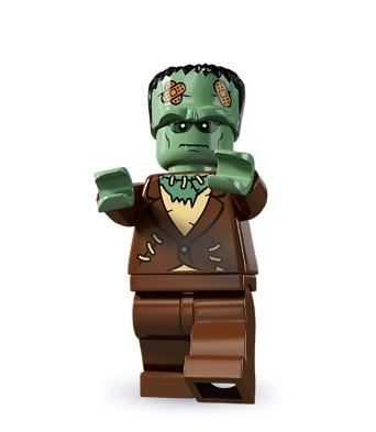 Blandt Lego-minifigurerne findes der alskens skræmmende væsener fra vampyrer og mumier til varulve og zombier. Men vi synes nu engang, at Frankensteins klassiske monster er det sejeste af dem alle.