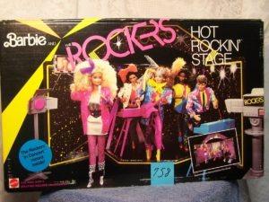 Barbie på scenen