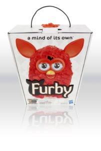 Furby fås i ni forskellige farver. Vejledende pris er 799 kr.