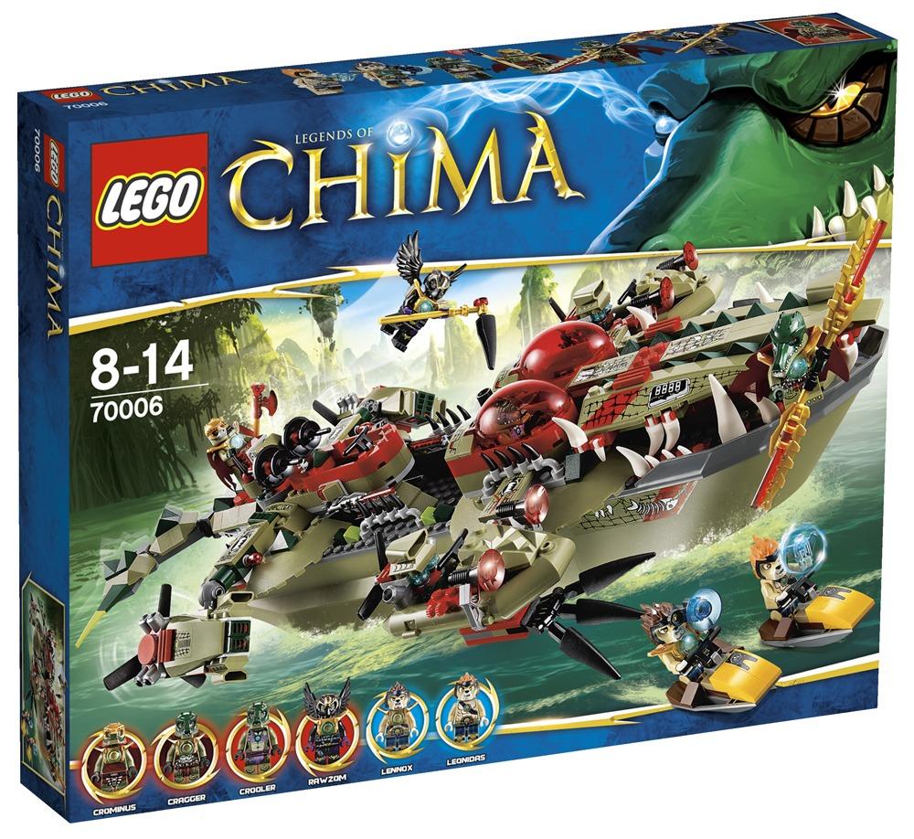 Vind craggers kommandobåd fra lego chima konkurrence