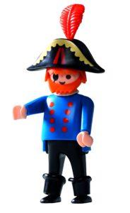 Sørøverkaptajnen fra 1986 blev den første Playmobil-figur, der var lidt ekstra rund om maven.