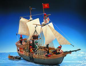 Playmobils sørøverskib fra 1978 er i dag en legetøjsklassiker.