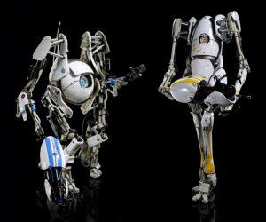 Portal 2-actionfigurer  (2)