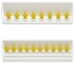 Brick Display Case koster normalt 38 dollar, men kan netop nu i en begrænset periode købes til 24,99 dollar.