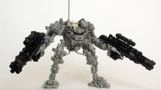 Byg dit eget Exo-skelet i Lego (1)