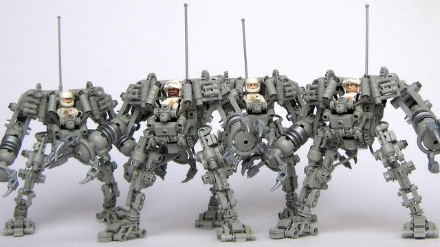 Byg dit eget Exo-skelet i Lego (3)