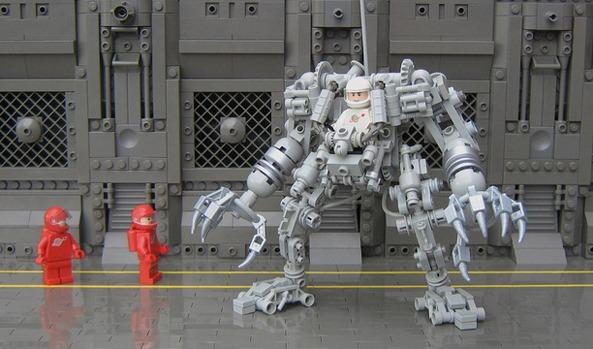 Byg dit eget Exo-skelet i Lego (4)