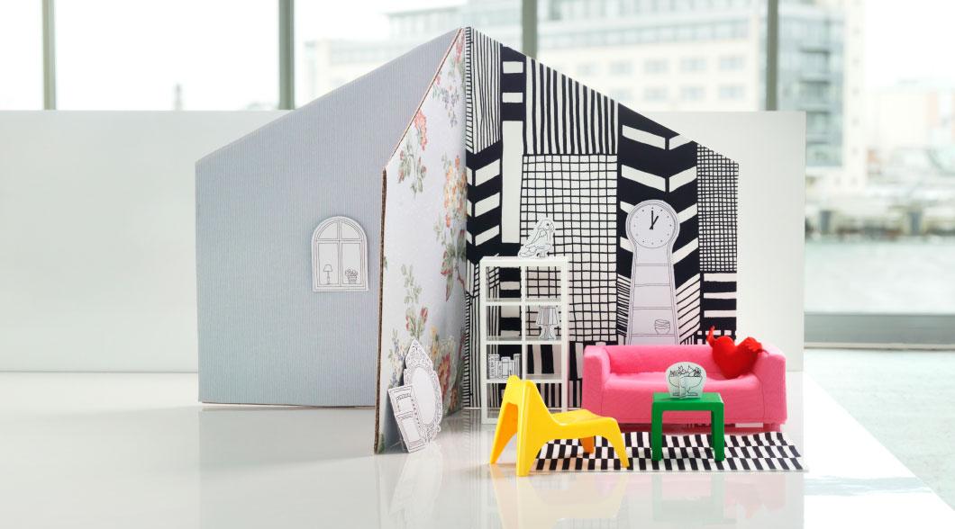 Test Ikea mobler til dukkehuset Skal vi lege nuSkal vi lege nu