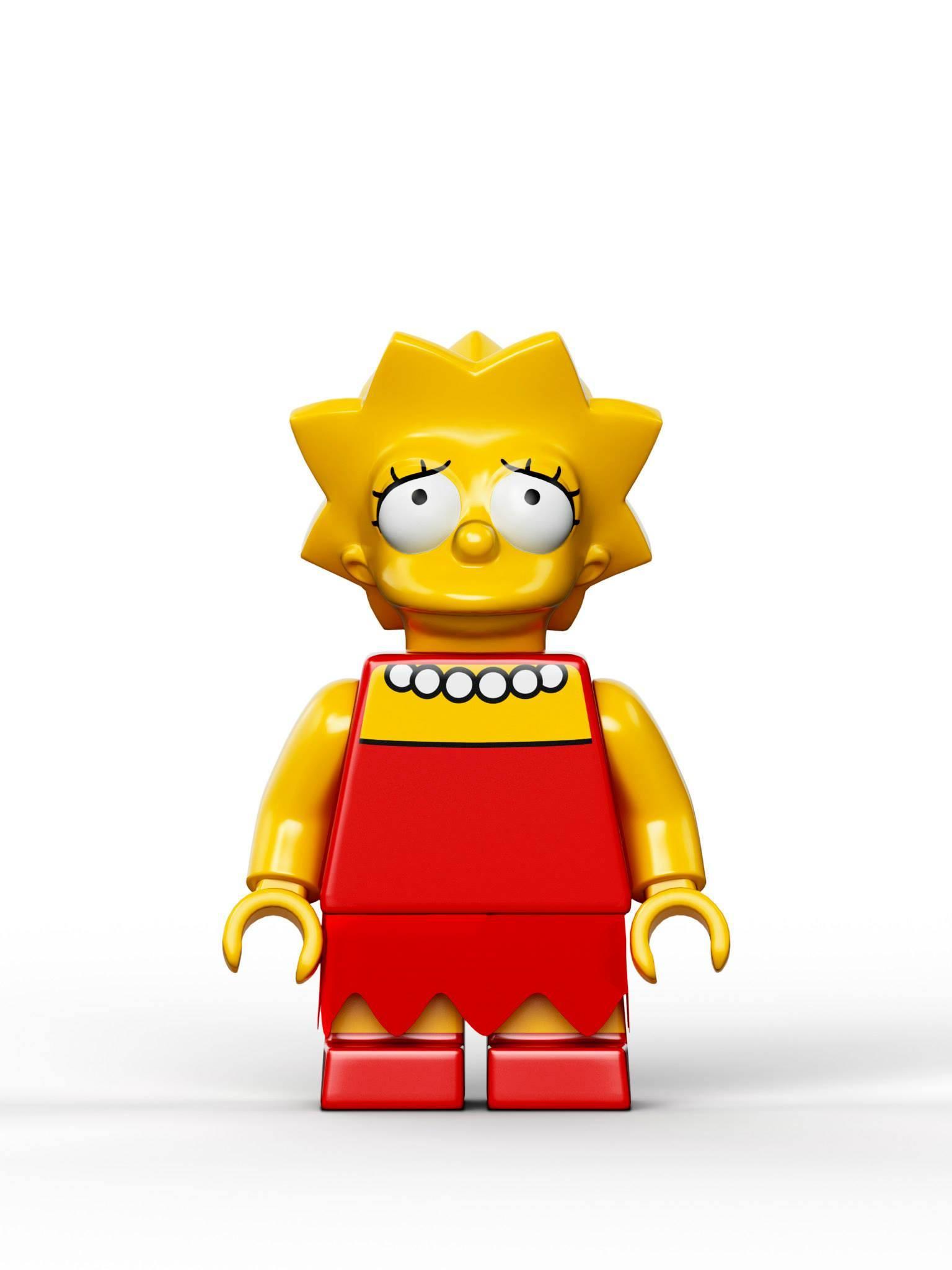 Officielle foto af lego the simpsons skal vi lege nuskal - Homer simpson nu ...