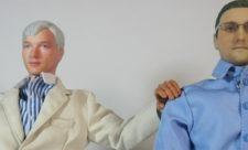 Edward Snowden og Julian Assange som actionfigurer (2)