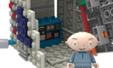 Family Guy bygges hos K'Nex