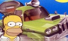 Homer Simpson designer bil til Hot Wheels