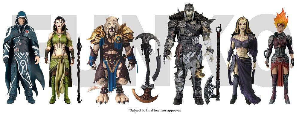 Magic the Gathering som actionfigurer (3)