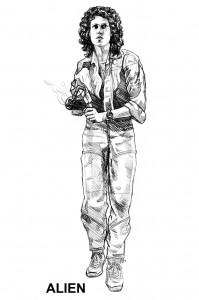 Sigourney Weaver får endelig sin egen Alien-actionfigur