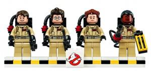 Ghostbusters med svungne Lego-former (1)