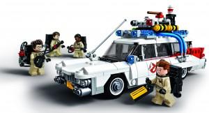 Ghostbusters med svungne Lego-former (3)