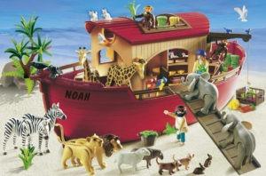 Noahs Ark blev så uventet en succes for Playmobil, at forældre var ved at komme op og slås, for at sikre sig et eksemplar inden juleaften.