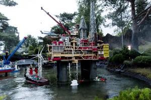 Fra Greenpeace aktion i Legoland tidligere i år.