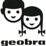 Geobra Brandstätters gamle logo var en af inspirationskilderne til Playmobil-figurens ansigtsudtryk.