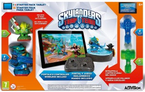 Skylanders: Trap Team-startpakke tablet
