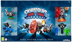 Skylanders: Trap Team Dark Edition-startpakke