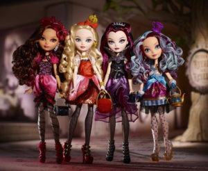 Ever After High_copyright Mattel