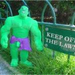 Hulk er temmelig grøn
