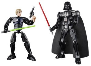 Lego Star Wars Constraction Buildable Figures (2)