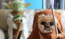 Plysudgaver af Yoda og Wicket the Ewok i fuld størrelse (1)