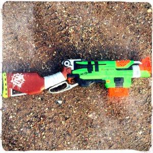 NERF ZombieStrike Slingfire blaster_2