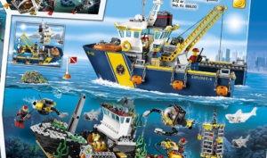 Lego City Dybhavs-udforskningsskib