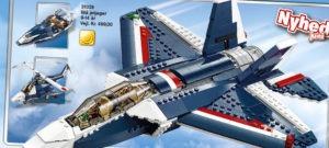Lego Creator Blå Jetjager