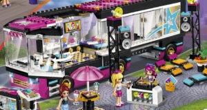 Lego Friends Popstjerne-turbus
