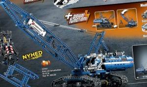 Lego Technic Kran på larvefødder