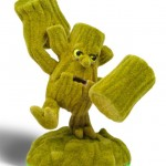 Skylanders Flocked Stump Smash