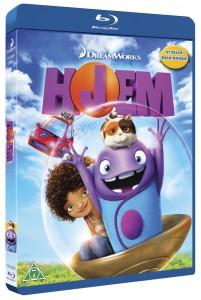 Vind tegnefilmen Hjem på blu-ray (2)