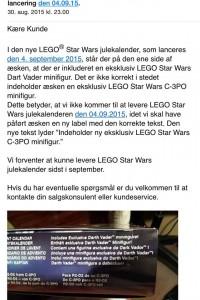 Lego har udskudt julen i en galakse lang, langt borte (1)