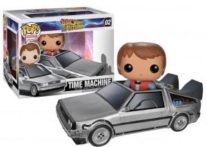 Funko Delorean og Marty McFlly