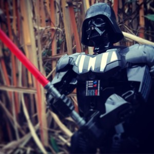 Star Wars buildable figures Darth Vader