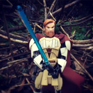 Star Wars buildable figures Obi-Wan Kenobi