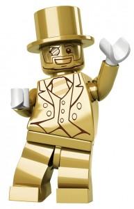 Lego-figuren Mr. Gold er kun produceret i 5.000 eksemplarer og koster nemt op imod 6.000 kroner at købe.
