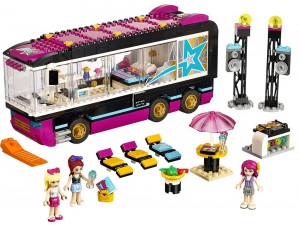 Pop Star Tour Bus Lego Friends (4)