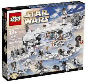 Som det kan ses nedenfor, så er hovedparten af indholdet i det kommende Assault on Hoth-sæt hentet i gamle Lego Star Wars-sæt.