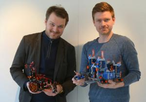 Daniel Mathiasen (tv) og Joakim Kørner Nielsen