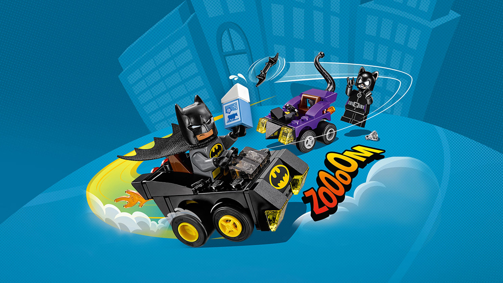 Lego Mighty Micros batman catwoman