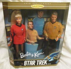 Allerede for 20 år siden meldte Barbie og Ken sig til Star Fleet.