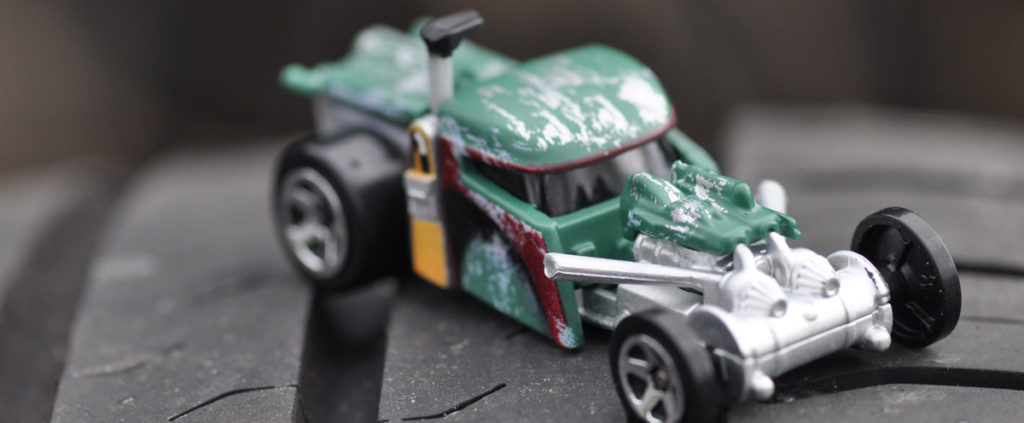 Hot Wheels boba fett