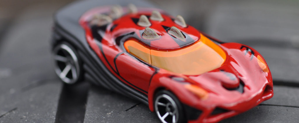 Hot Wheels darth maul