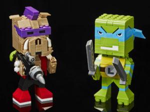 Legos nye BrickHeadz skal konkurrere mod Megabloks Kubros-figurer, der blandt andet er baseret på TMNT og Masters of the Universe.