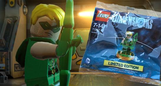 Vind Green Arrow til Lego Dimensions